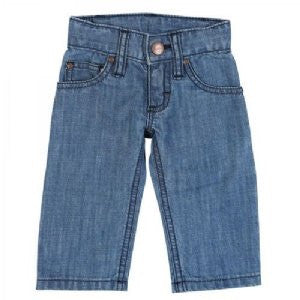 Wrangler All Around Baby Infant/Toddler Western Jeans- Dark Blue - Kerlin's Western and Work Wear  - 1