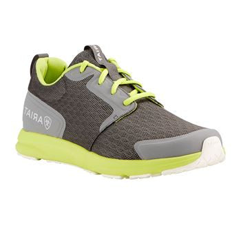 Ariat Men's Fuse Charcoal Neon Shoe