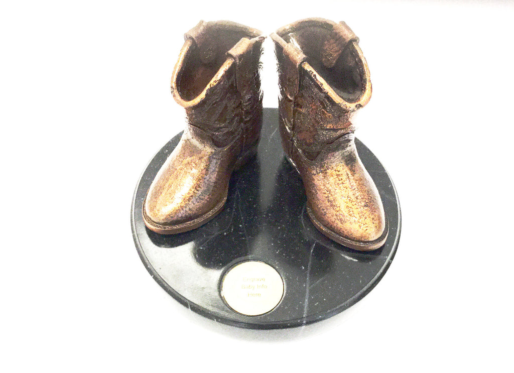 Baby Boot Statue - Kerlin's Western and Work Wear  - 2
