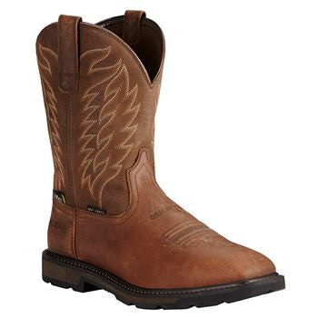 Ariat Groundbreaker Wide Square Toe Metguard