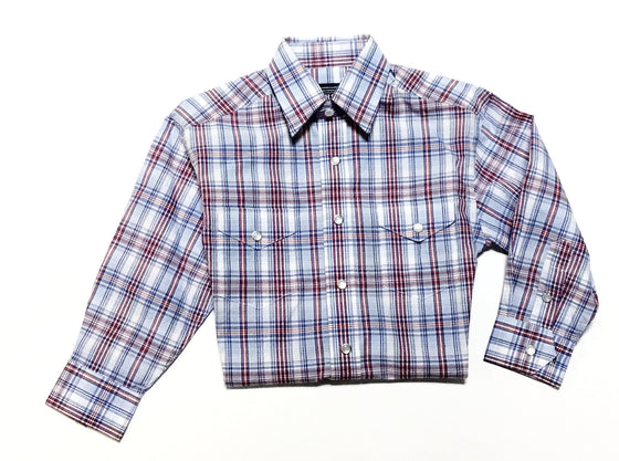 Panhandle Slim Rough Stock Ithaca Vintage Ombre Plaid