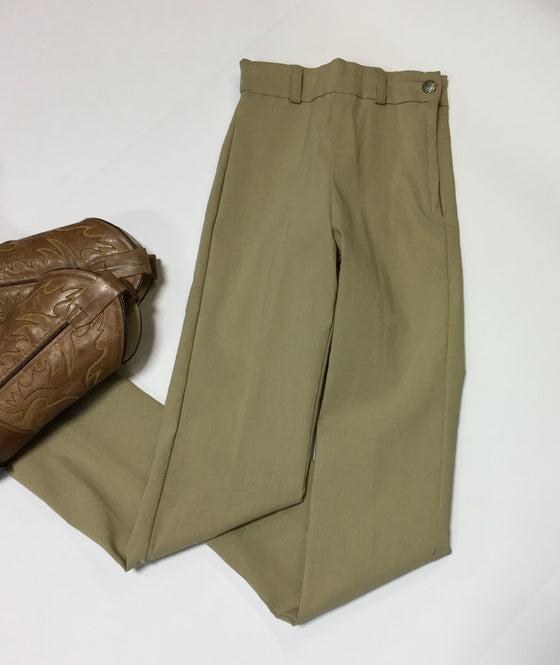 Kid's Western Show Pant-Tan - Kerlin's Western and Work Wear