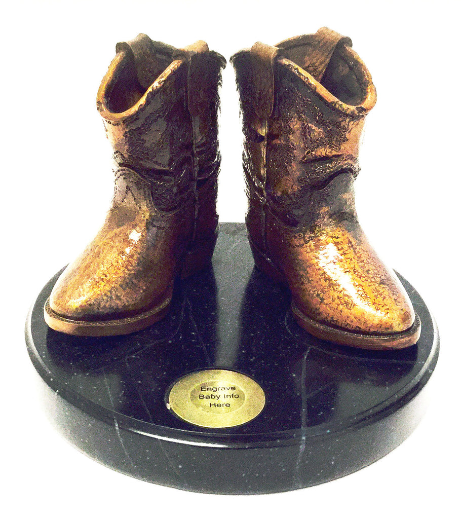 Baby Boot Statue - Kerlin's Western and Work Wear  - 1