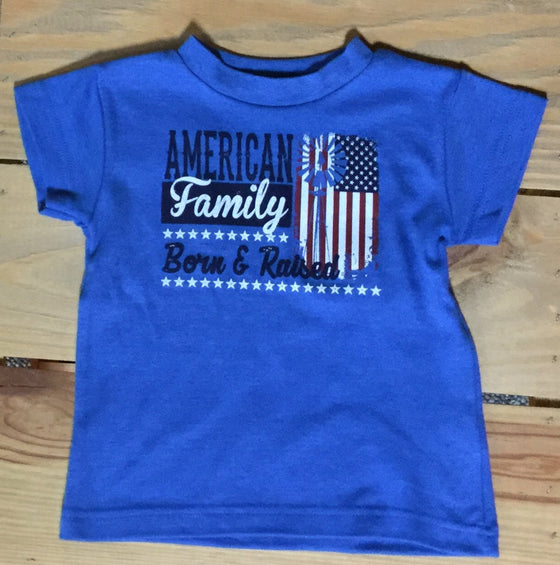 Farm Boy Royal Born & Raised Toddler Tee