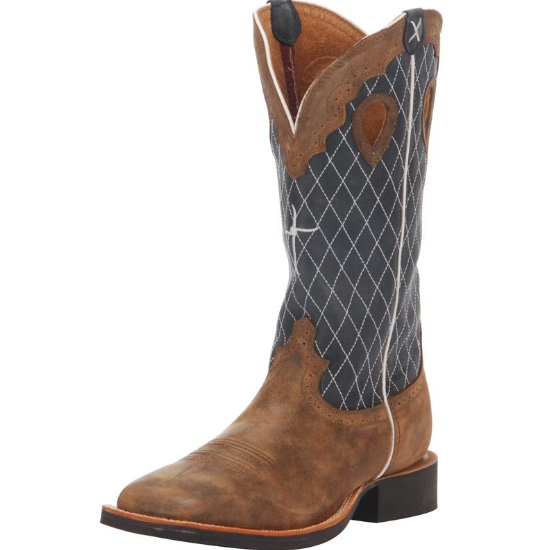 Twisted X Ruff Stock Bomber Cowboy Boots
