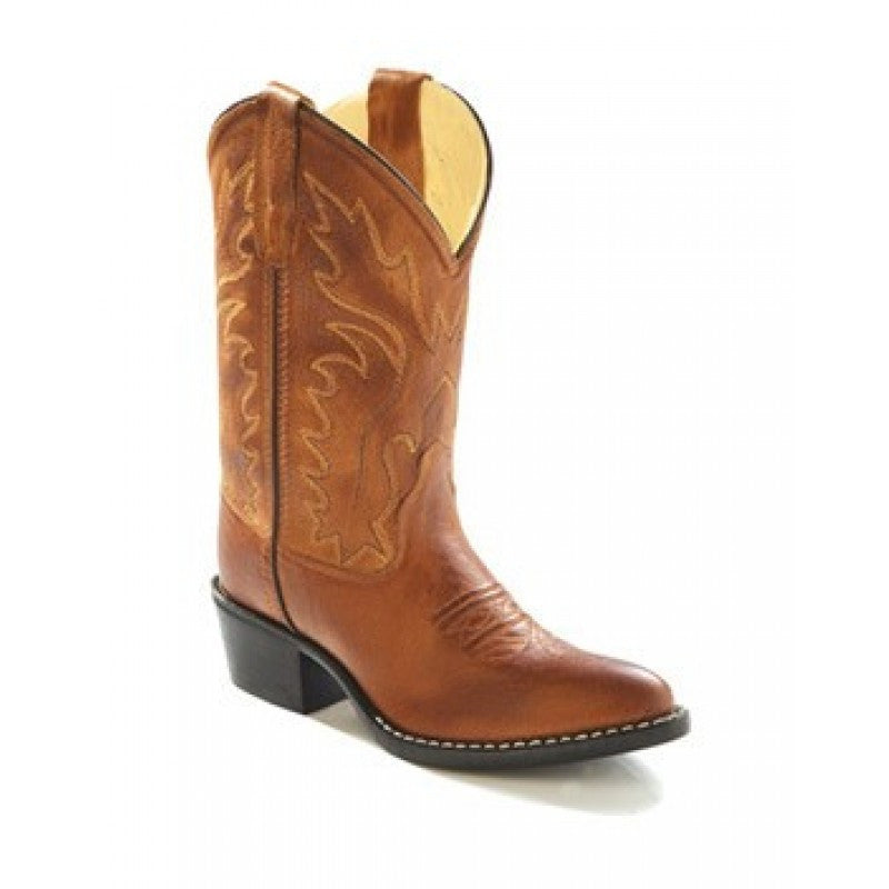 Old West Tan Canyon Boots - Youth - Kerlin's Western and Work Wear