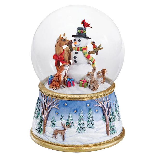 Breyer 2017 A Gathering of Friends Musical Snow Globe