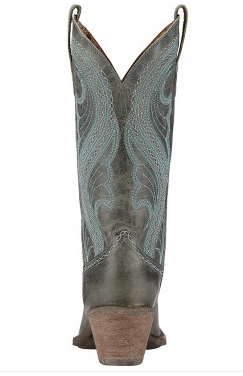 Ariat Women's Lively Dusty Teal Boot - Kerlin's Western and Work Wear  - 3