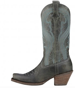 Ariat Women's Lively Dusty Teal Boot - Kerlin's Western and Work Wear  - 4