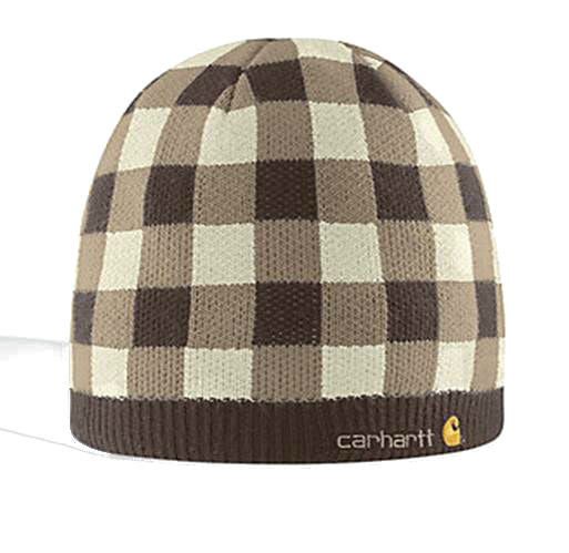Carhartt PLAID KNIT HAT WOMEN'S, ACRYLIC KNIT - Kerlin's Western and Work Wear