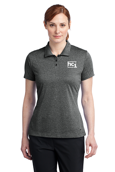 New Ladies Golf Dri-FIT Heather Polo