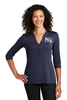 Ladies UV Choice Pique Henley