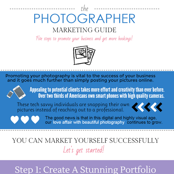 5 Steps To Promote Your Photography Business