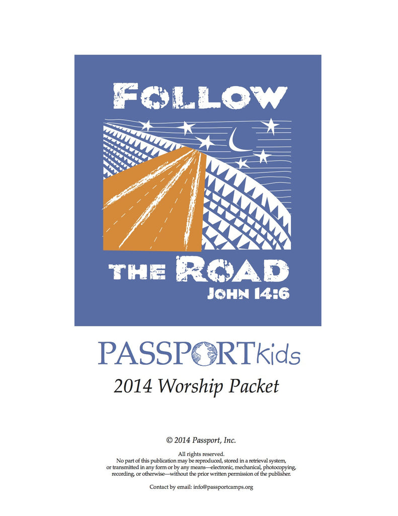 Kids Worship Packet 2014