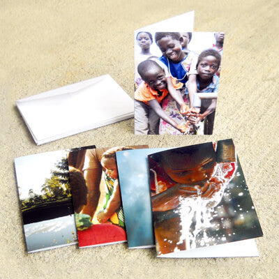 Watering Malawi Notecards