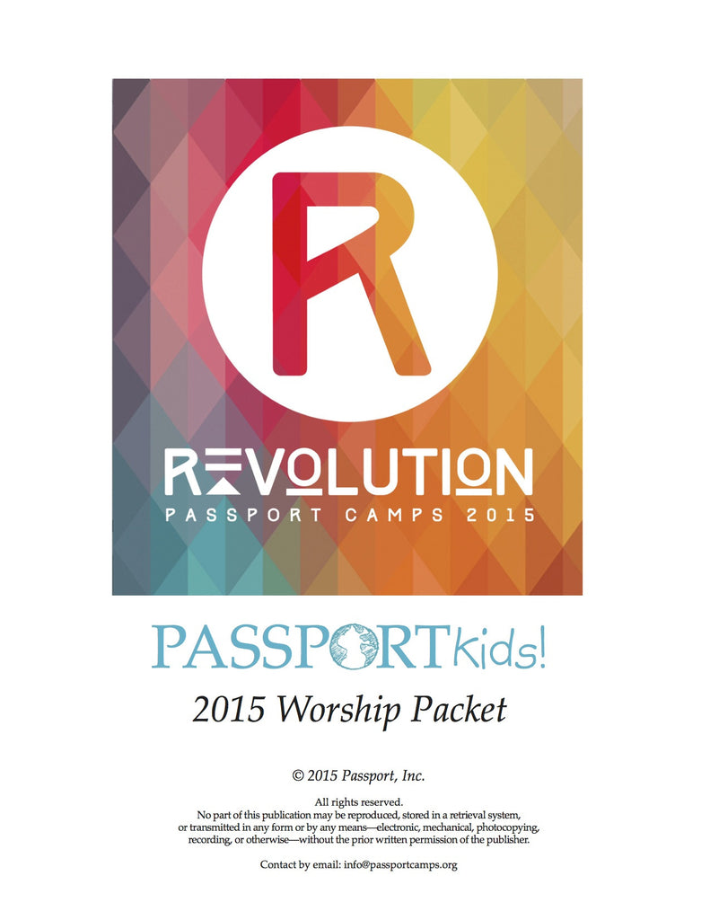 2015 PASSPORTkids! Worship Packet