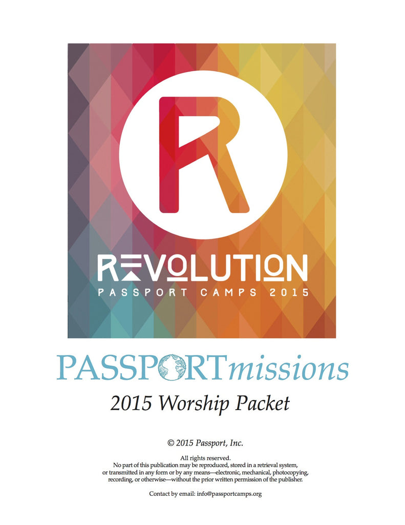 2015 PASSPORTmissions Worship Packet