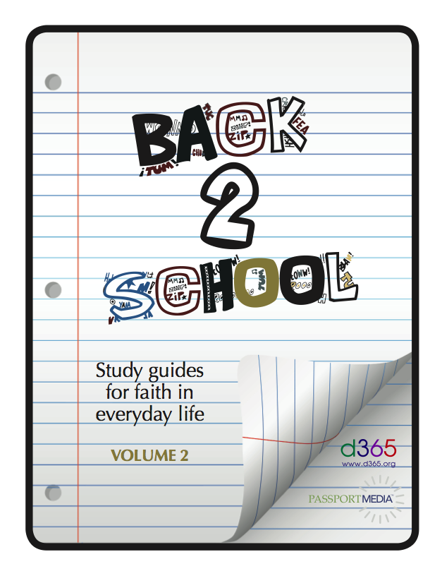 Back2School Small Group Study Guide, Volume 2 (2013)