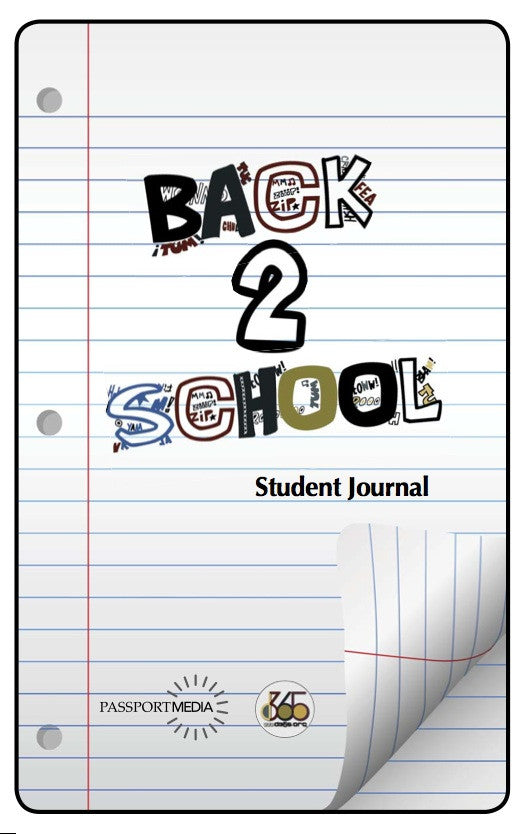Back2School Volume 1 Student Journal