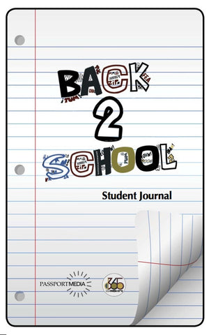 Back2School Student Journal, Volume 2 (2013)