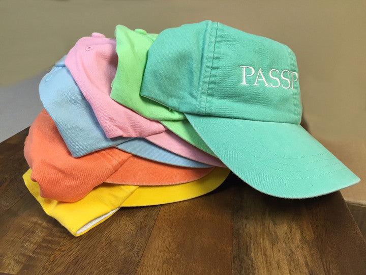 PASSPORT Washed Twill Hat
