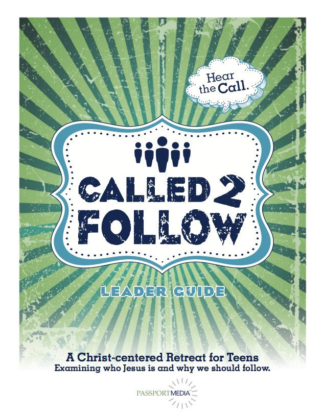 Called to Follow Retreat - Printed