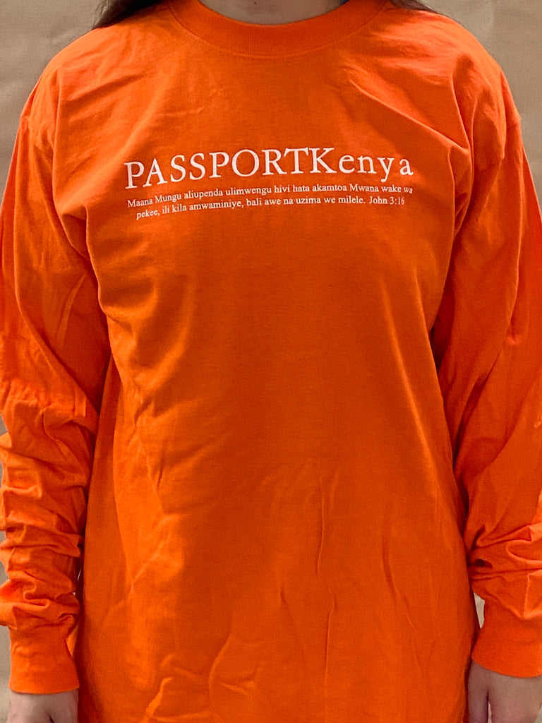 PASSPORT Kenya Long-sleeve