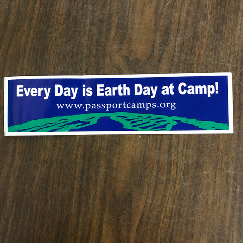 Bumper Sticker: Earth Day