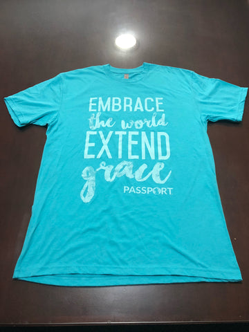 Extend Grace T-Shirt - Tahiti Blue