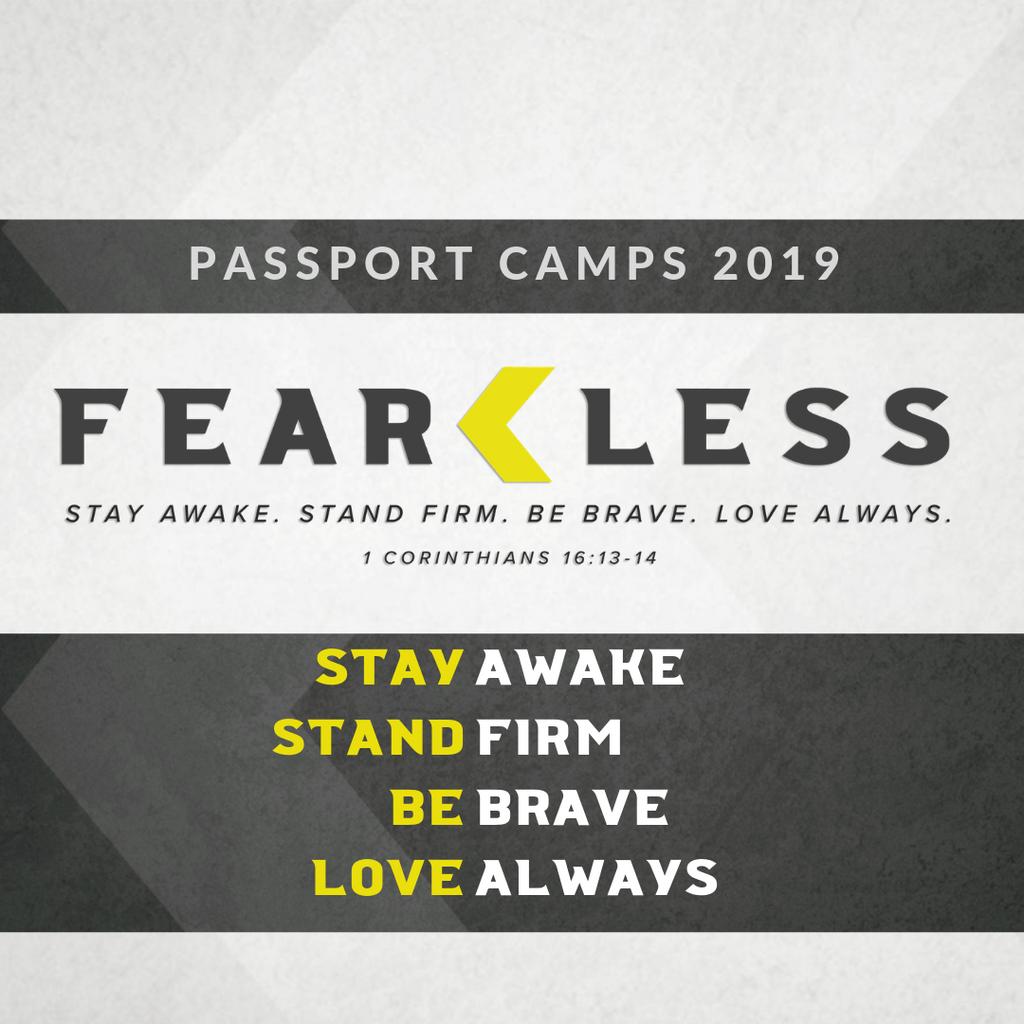 2019 PASSPORT Youth Worship Packet