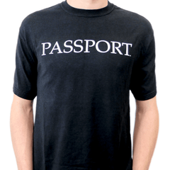 PASSPORT T-Shirt - Black