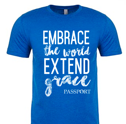 Extend Grace T-Shirt - Royal Blue