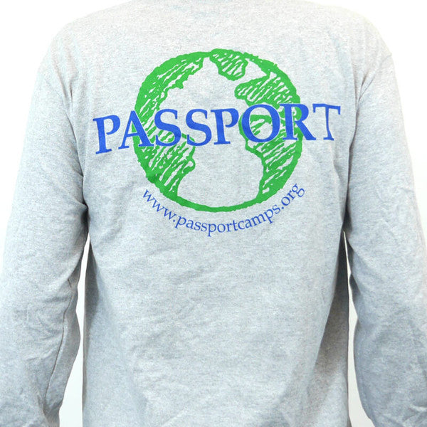 PASSPORT Long-Sleeved Globe Shirt - Gray