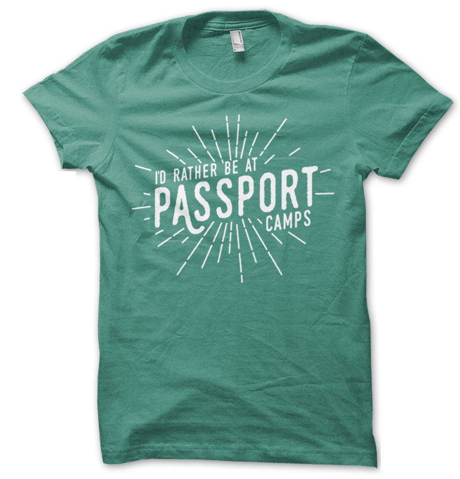 I'd Rather Be At Passport T-Shirt