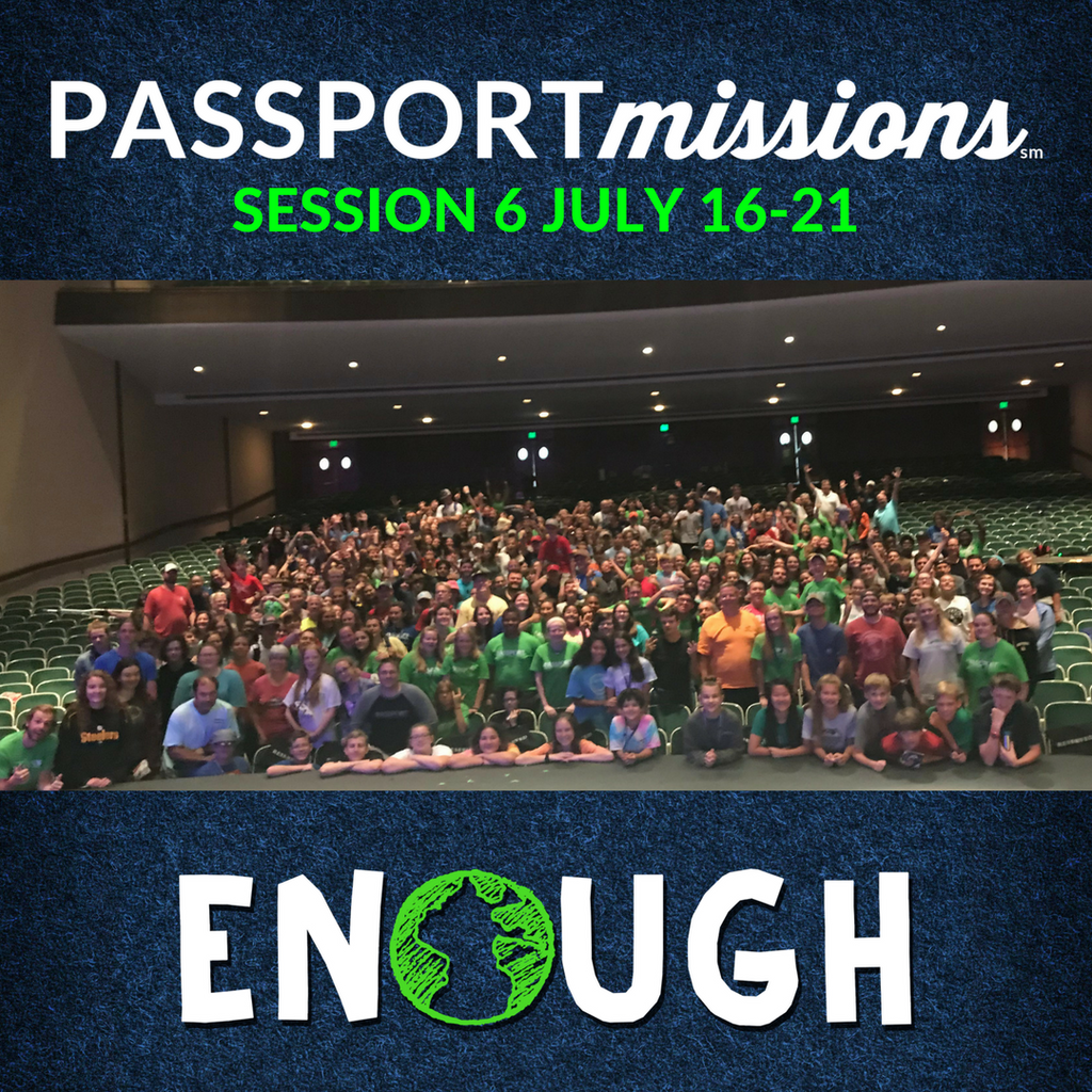 PASSPORTmissions at Furman University, July 16-21