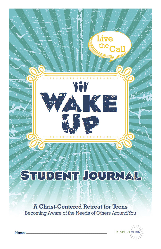 Wake Up Student Journal