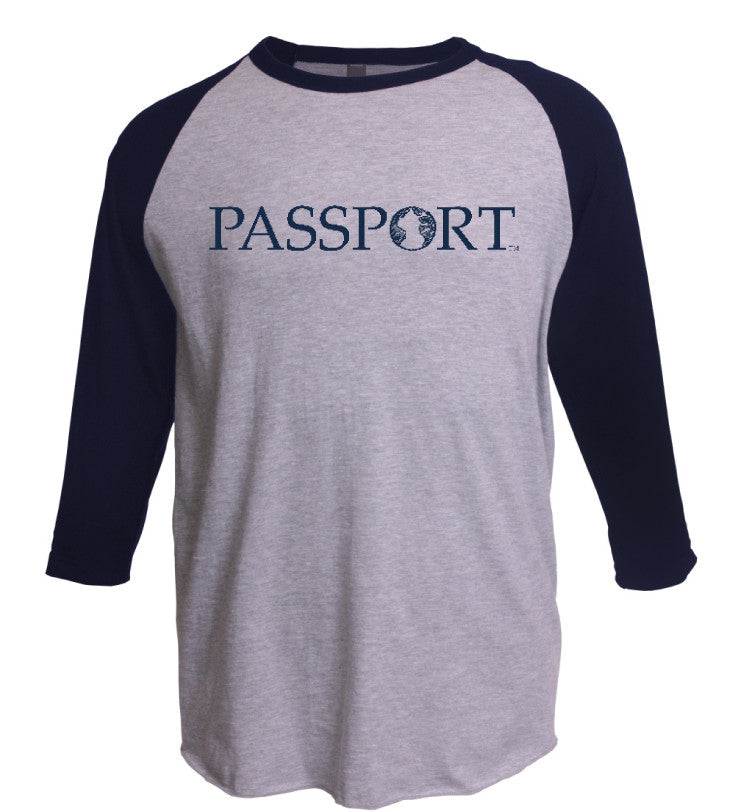 PASSPORT Baseball T-shirt