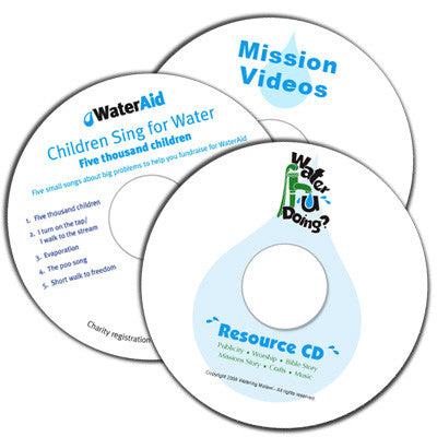 Water u Doin? VBS (CD's & DVD)