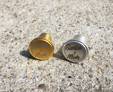 SWITCH MODS SILVER & GOLD PLATED BUTTON/CONTACT