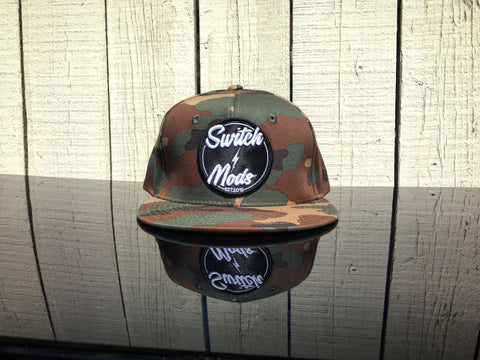 CAMO SWITCH MODS SNAPBACK
