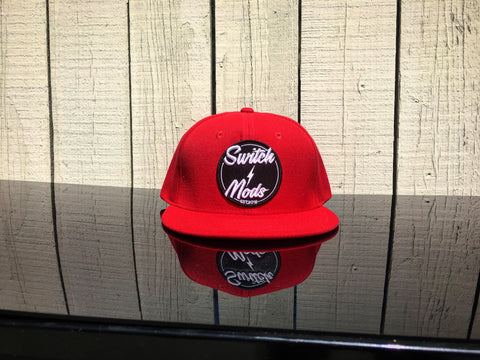 RED SWITCH MODS SNAPBACK