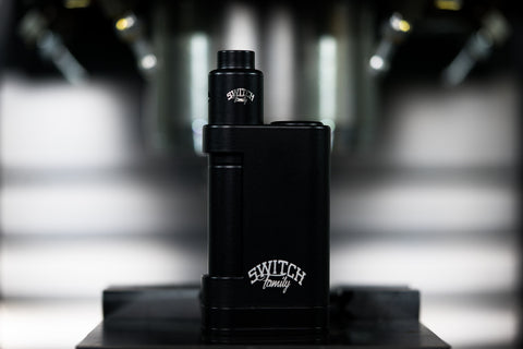SWITCH MODS FAMILY BOX & V2 SWITCH MOD FULL SET-UP BLACK