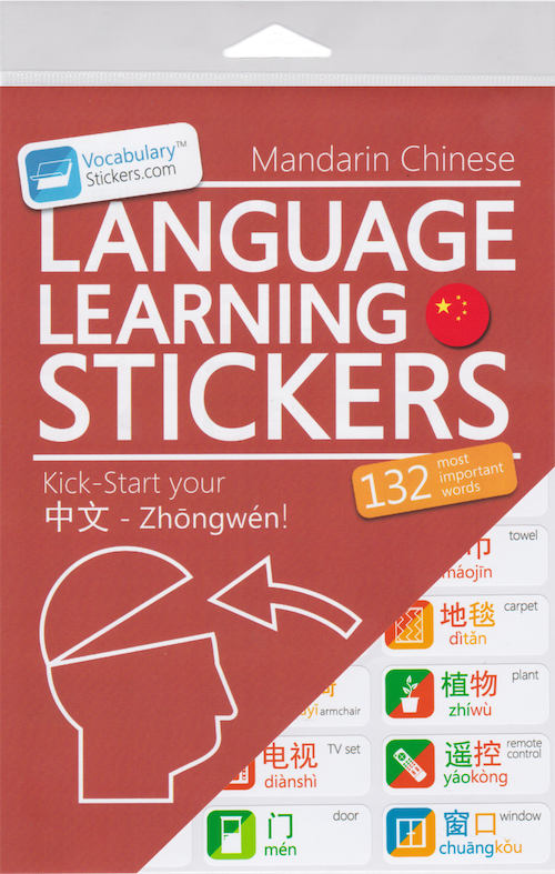 Chinese Language Learning Stickers