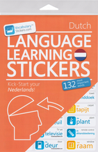 Dutch Vocabulary Language Stickers