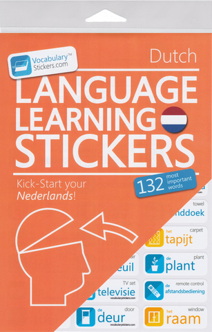 Dutch Language Stickers