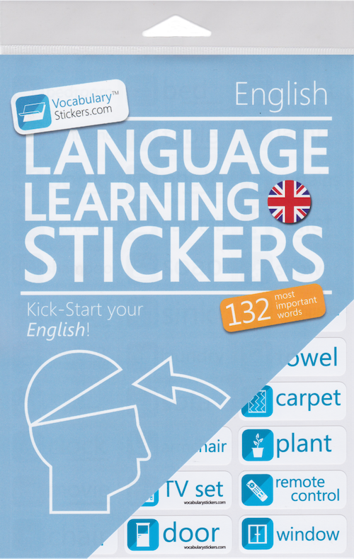 English Language Learning Stickers