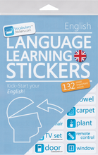 Vocabulary Stickers