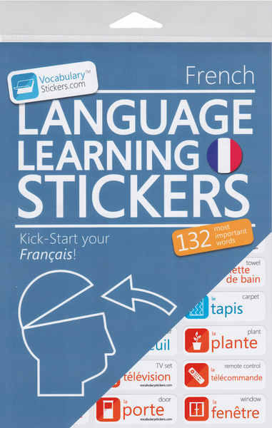 French Language Stickers
