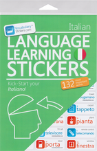 Italian Vocabulary Language Stickers