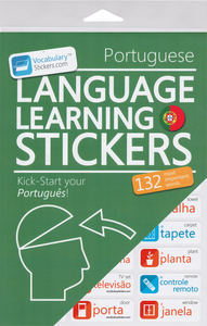 Portuguese Vocabulary Language Stickers